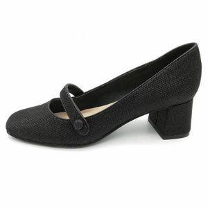 Isaac Mizrahi Scarlet Mary Janes Block Heel 6.5